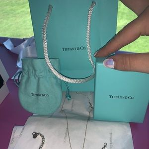 Matching Tiffany & Co. necklace & bracelet